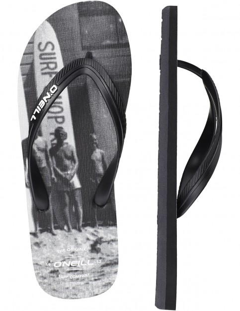 ONeill Profile Photo Canvas Sandals in Grey Aop