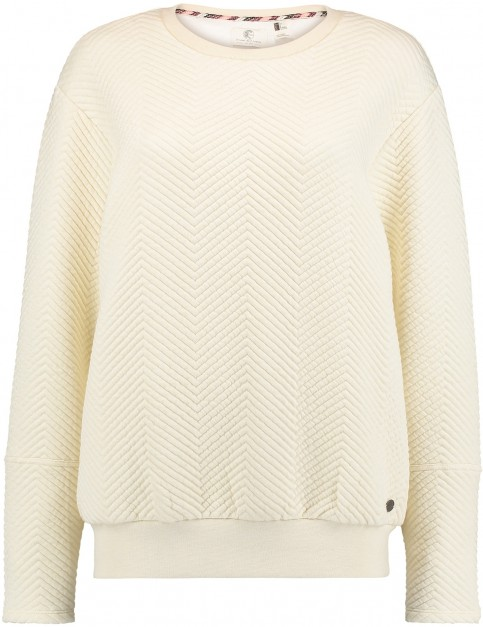 Oneill Quilted Sweatshirt in Birch
