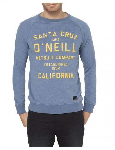 Ensign Blue ONeill Santa Cruz Crew Sweatshirt