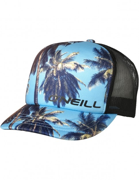 ONeill Surf Trucker Cap in Blue Aop