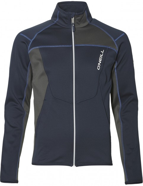 ONeill Tuned Full Zip Fleece in Ink Blue