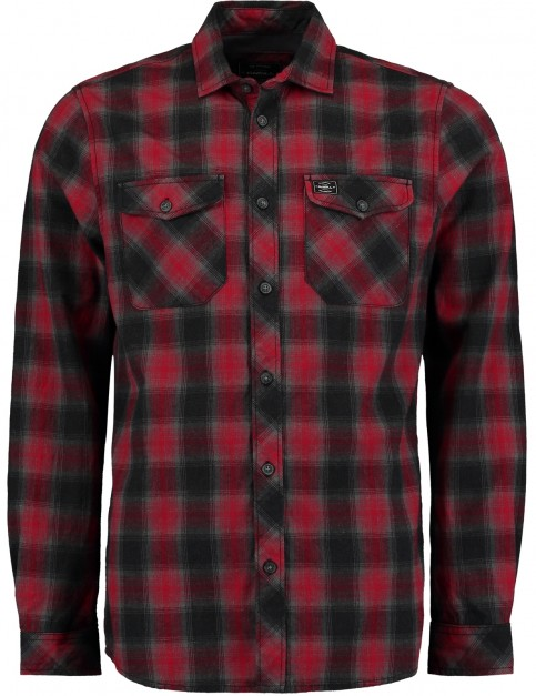 ONeill Violator Long Sleeve Shirt in Red Aop