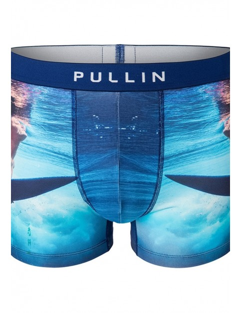 Pullin Master Aqua Girl Underwear in Blue