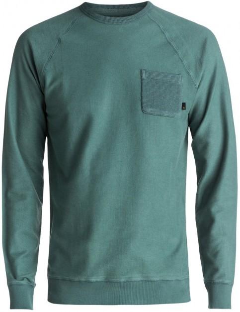 Quiksilver Baao Sweatshirt in Silver Pine