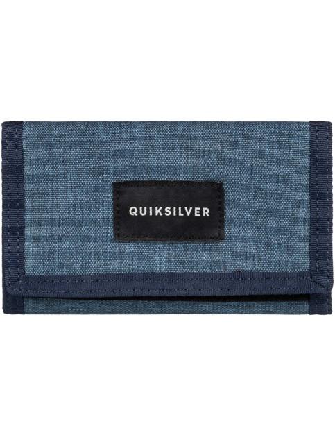 Quiksilver Barter Polyester Wallet in Vallarta Blue