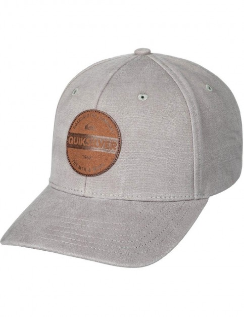 Quiksilver Blues Buster Cap in Medium Grey Heather