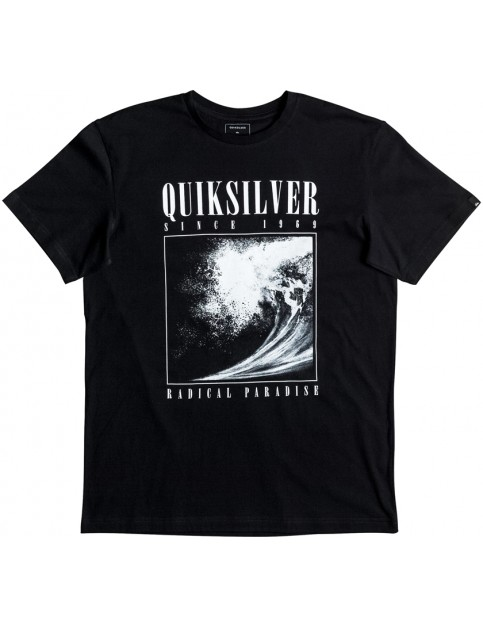 Quiksilver Both Sides Short Sleeve T-Shirt in Black
