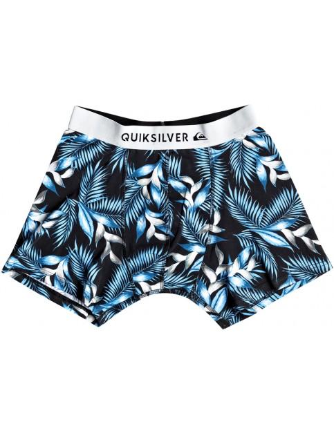 Quiksilver Boxer Poster Underwear in Bonnie Blue Classic Flower