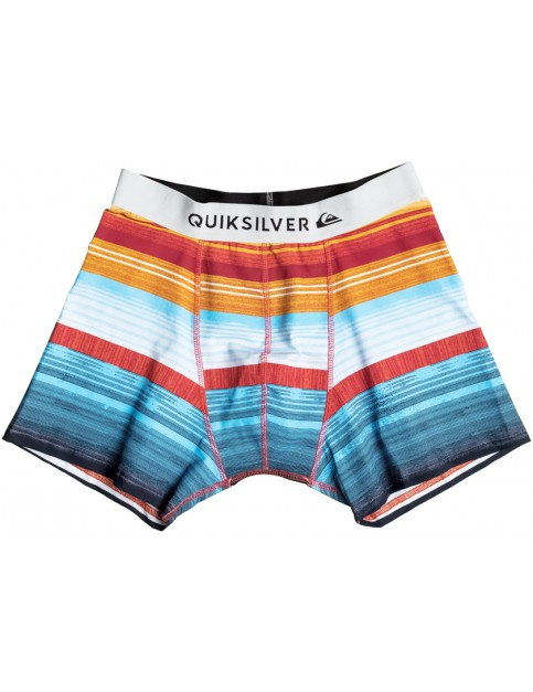 Quiksilver Boxer Poster Underwear in Nasturtic Everyday Stripes