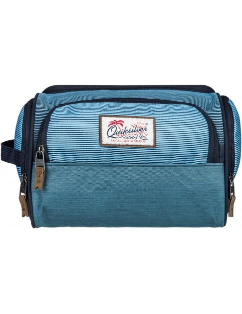 Nasturtic Med Stripes Quiksilver Capsule Wash Bag