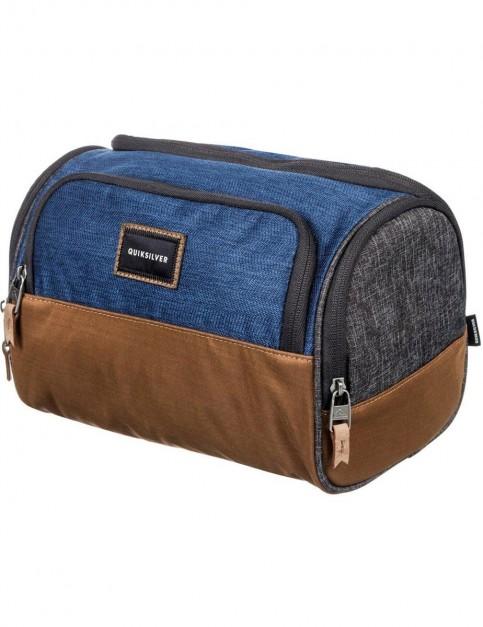 Quiksilver Capsule Wash Bag in Medieval Blue
