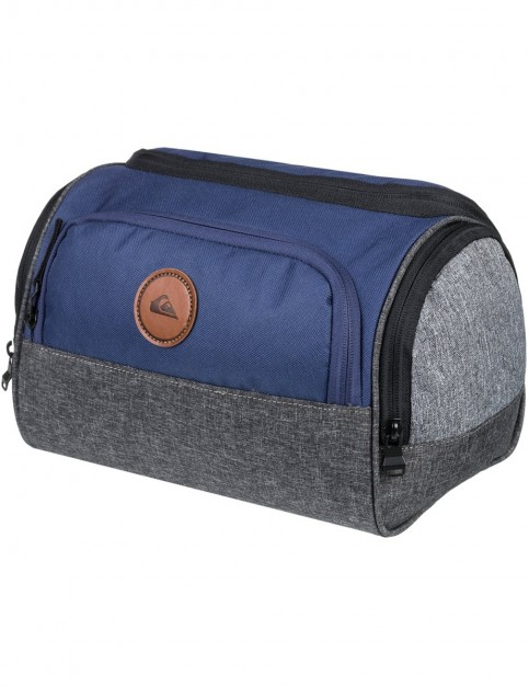 Quiksilver Capsule Wash Bag in Medieval Blue Heather