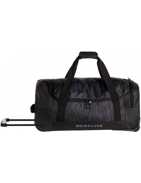 Black Quiksilver Centurion Wheeled Luggage