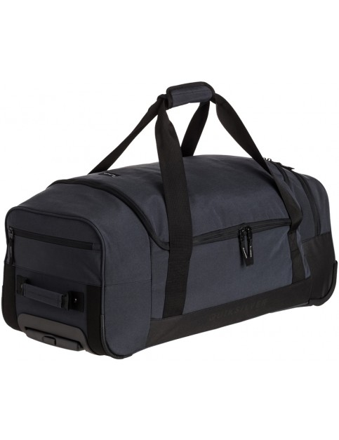 Quiksilver Centurion Wheeled Luggage in True Black