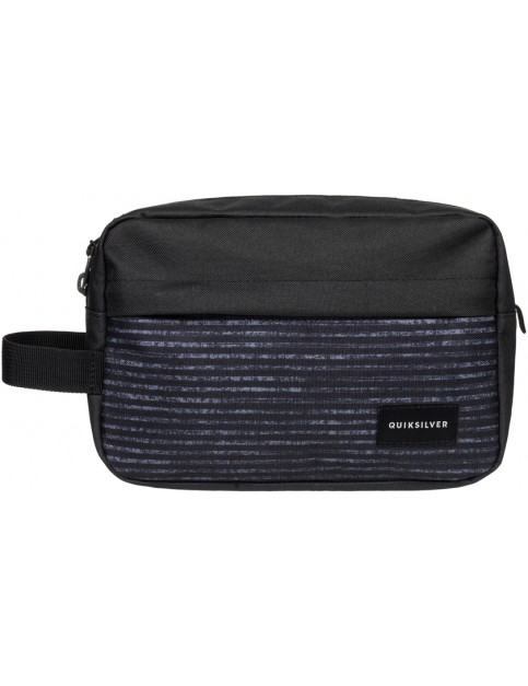 Black Quiksilver Chamber Wash Bag