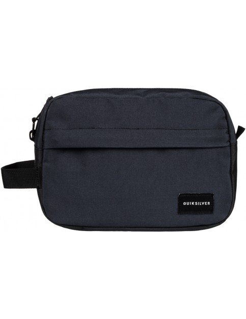 True Black Quiksilver Chamber Wash Bag
