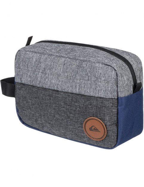 Quiksilver Chamber Wash Bag in Medieval Blue Heather