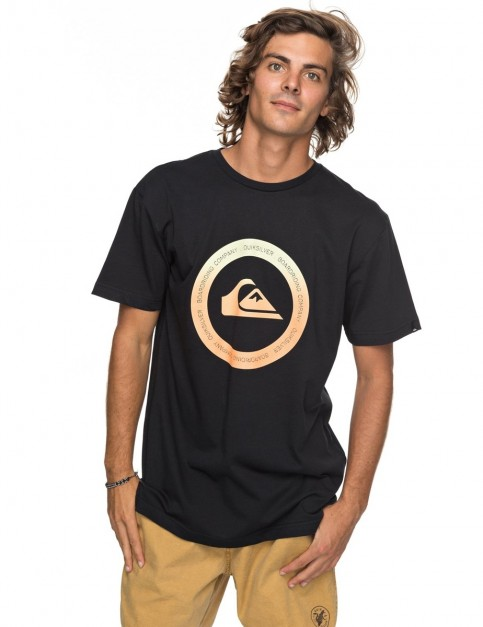 Quiksilver Classic Kahu Short Sleeve T-Shirt in Black