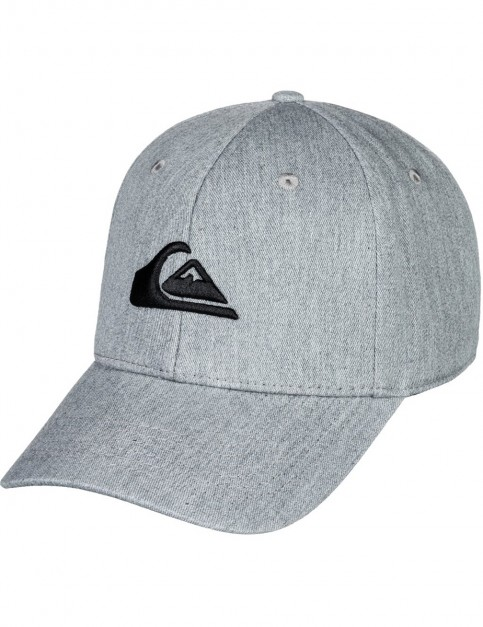 Quiksilver Decades Cap in Medium Grey Heather