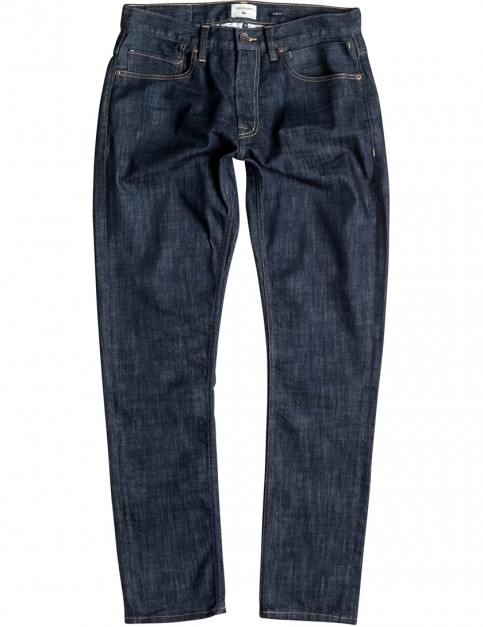 Quiksilver Distortion Slim Fit Jeans in Rinse