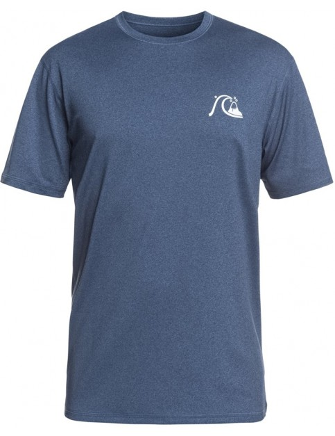 Quiksilver El Capitan Surf Tee in Dark Denim Heather