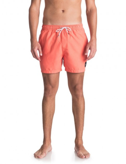 Quiksilver Everyday 15 inch Elasticated Boardshorts in Nasturtium