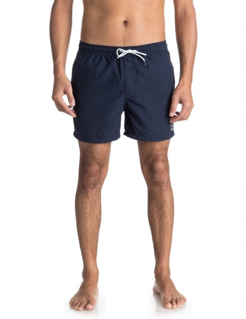 Quiksilver Everyday 15 inch Elasticated Boardshorts in Navy Blazer