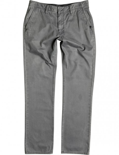 Quiksilver Everyday Chino Slim Fit Trousers in Dark Shadow