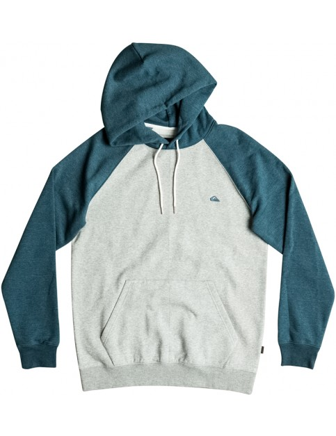 Indian Teal Heather Quiksilver Everyday Pullover Hoody