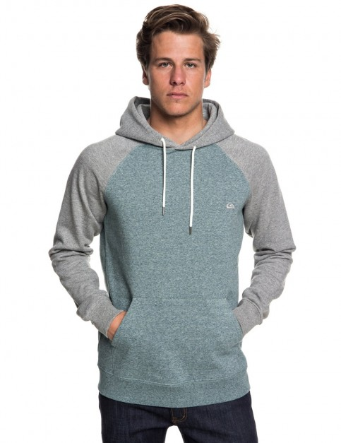 Quiksilver Everyday Pullover Hoody in Light Grey Heather
