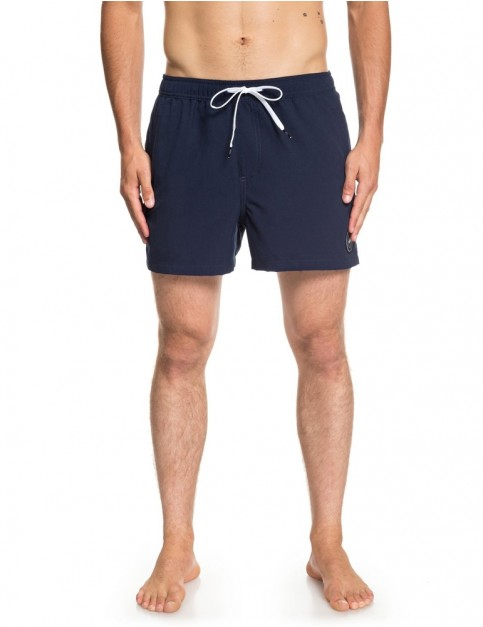 Quiksilver Everyday Volley 15 Elasticated Boardshorts in Navy Blazer