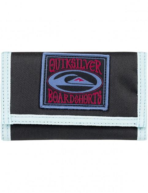 Quiksilver Everywear Polyester Wallet in Black