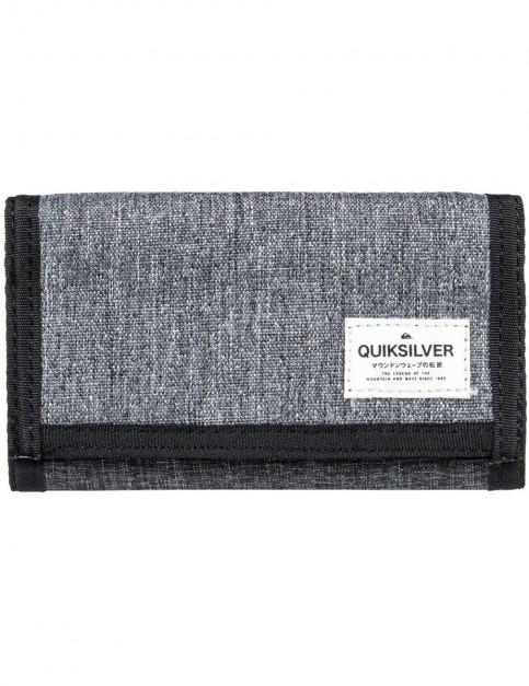 Quiksilver Everywear Polyester Wallet in Light Grey Heather