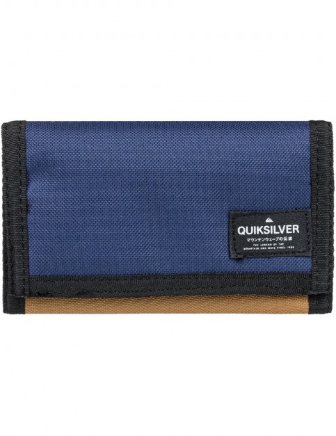 Quiksilver Everywear Polyester Wallet in Rubber