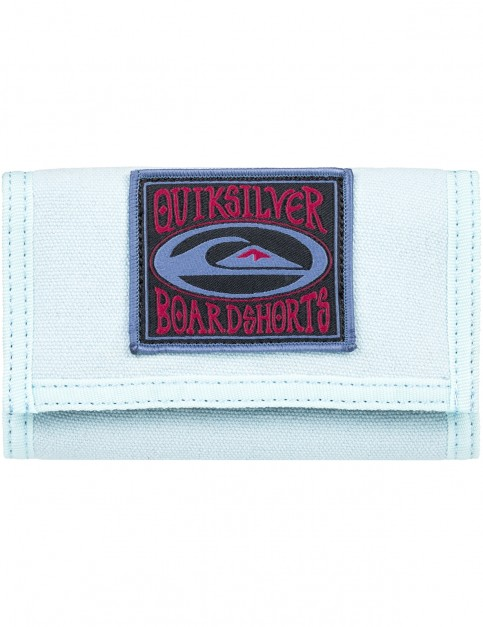 Quiksilver Everywear Polyester Wallet in Stone Wash