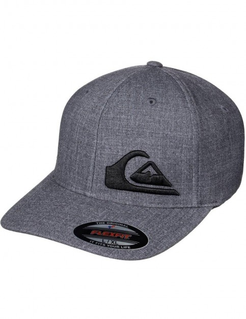 Quiksilver Final Cap in Dark Charcoal Heathe