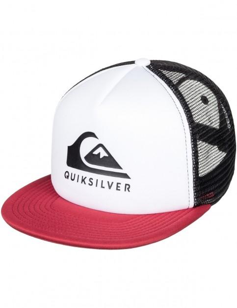 Quiksilver Foamslay Cap in White