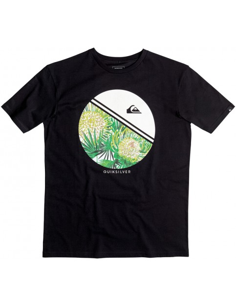 Quiksilver Free Wheelin Short Sleeve T-Shirt in Black