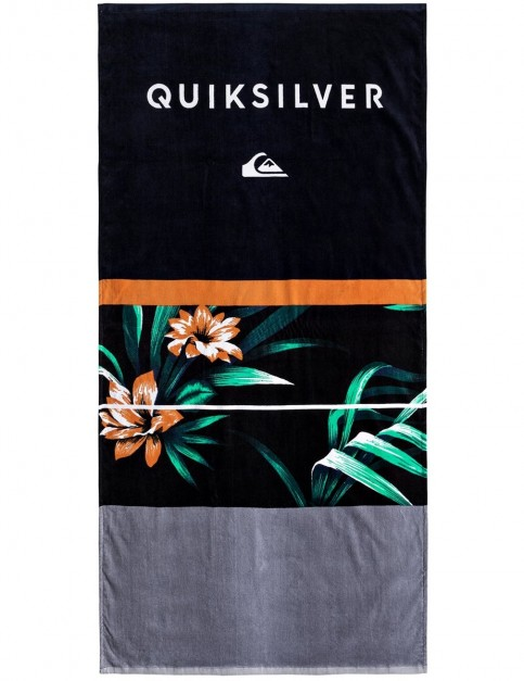 Quiksilver Freshness Beach Towel in Black