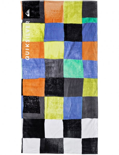 Quiksilver Freshness Beach Towel in Cadmium Orange