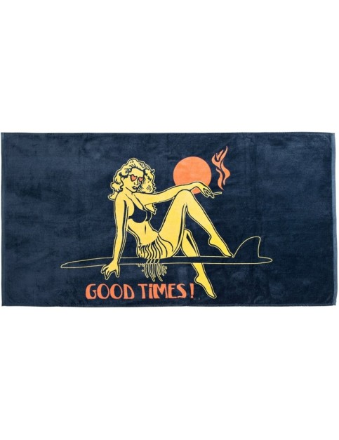 Quiksilver Freshness Beach Towel in Dark Shadow