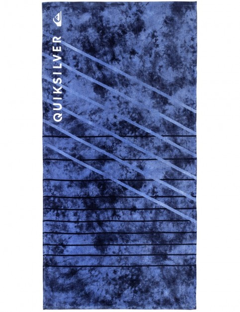 Quiksilver Freshness Beach Towel in Silver Lake Blue
