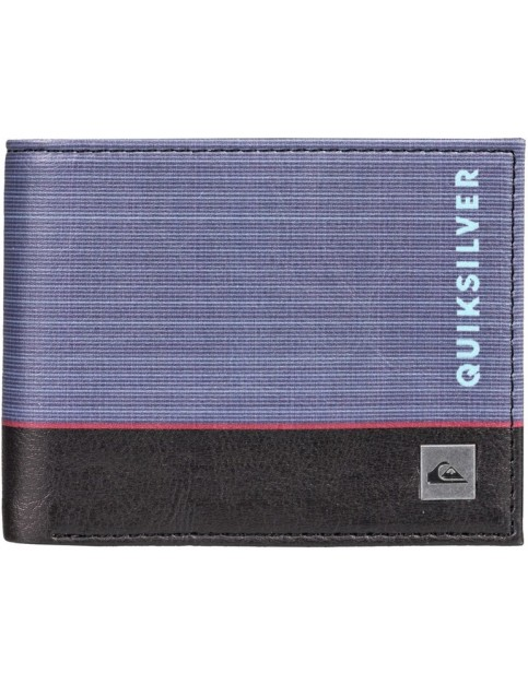 Quiksilver Freshness Faux Leather Wallet in Blue Nights