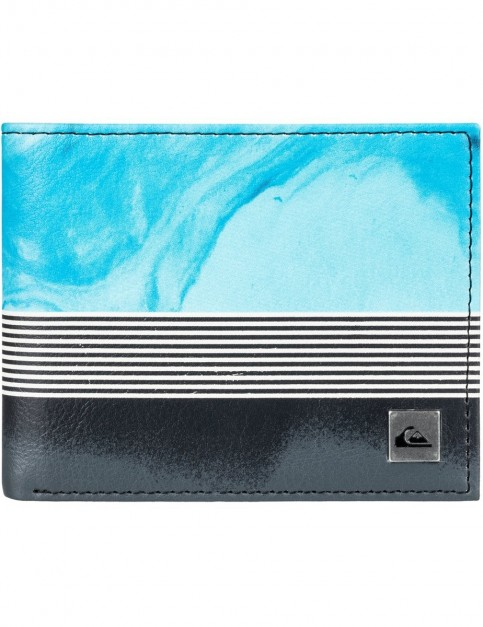 Quiksilver Freshness Faux Leather Wallet in Iron Gate