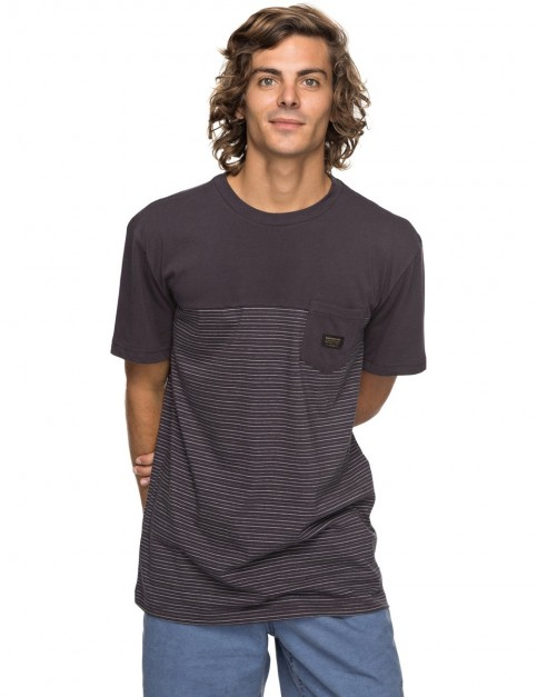 Quiksilver Full Tide Short Sleeve T-Shirt in Tarmac-Fulltide