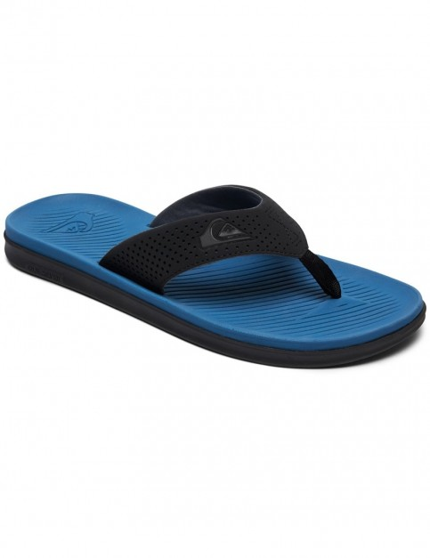 Quiksilver Haleiwa Plus Sports Sandals in Black/Blue/Black