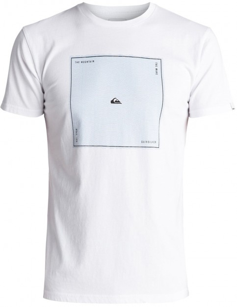 Quiksilver Heat Waves Premium Short Sleeve T-Shirt in White