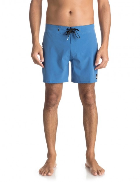 Quiksilver Highline Kaimana 16 inch Mid Length Boardshorts in Bright Cobalt