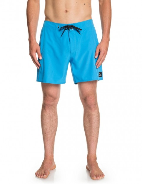 Quiksilver Highline Kaimana 16 Short Boardshorts in Malibu Blue