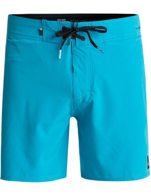 Quiksilver Highline Kaimana Mid Length Boardshorts in Atomic Blue